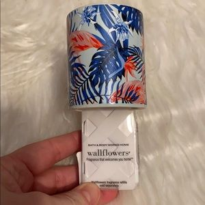 Bath and body works wallflower plugin flamingo
